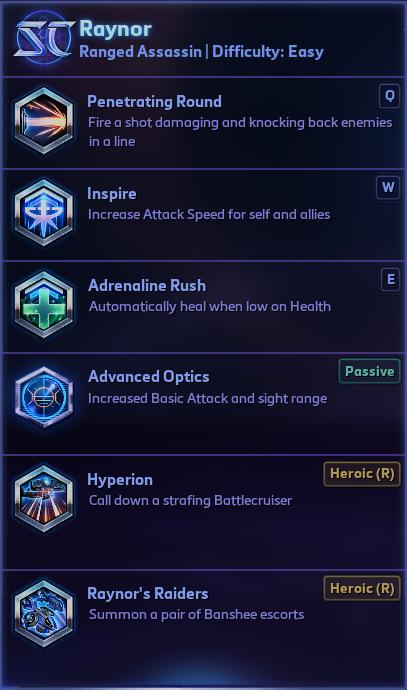 raynor-abilities